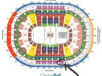 4 Great Center Ice Whites Section 335 Row BB