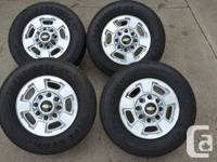 Load range E. Transforce H/T tires zero miles (see the