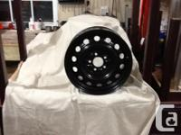 4 new original GM steel wheels 16 inch x 6 1/2 vast, 5
