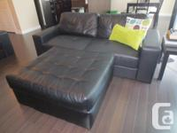 Mint condition sofa, love-seat, recliner, and ottoman