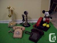 ========4 TELEPHONES===========.  - Mickey Mouse Phone