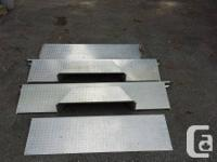 4 item aluminum mosaic plate box liner for sale.