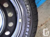 4 Nokian Hakkapelitta Ice & Snow Tires mounted on 16