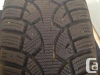 Tires are in great shape with lots of tread. Moved to a