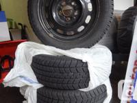 For sale are 4 Snow Tires & Rims from a 2007 Mazda