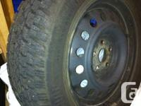 In great shape. Set of 4 Firestone Winterforce tires