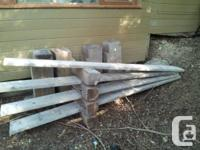 4 SOLID WOODEN RAMPS $ONE HUNDRED obo for a vehicle or