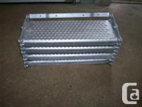 4 Step collapsible camper stairs,well used but very