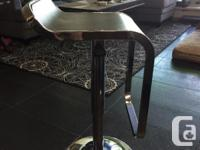 These stools have been great and barely used. They have
