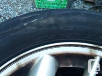 4 tires as new 205/65 r15 weather max all season tires
