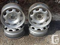 4 ford steel rims 17 inch by 7 vast never ever used