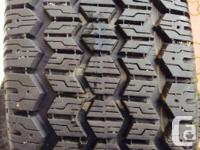 4 Uniroyal Tiger Paw Winter Tires. Size: P225/70R16.