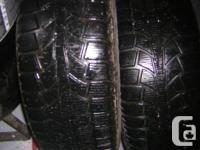 QTY 4 205 60 R16 Uniroyal Winter tires on rims balanced