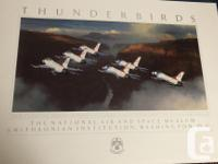 offered are 4 USAF aircraft posters. These are not