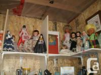 Lot with collectible dolls, Little Teary Deary Doll,