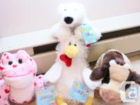 NEW with tags Brown Cow Lil kinz Polar Bear Love heart, used for sale  British Columbia