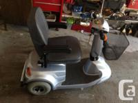 4 Wheel CTM Mobility Scooter - Ideal for elders or