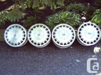 have 4 Honda Wheels in typical condition. size is 15 x