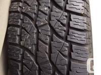4 Wild Country XTL All Season tires 265/75R15 $400 OBO