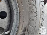 Used only 2 seasons. 4 225 65R17 winter tires mounted
