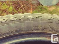 I have 4 winter 15 radial tires in real good condition