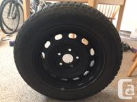 """4 winter tires """"Uniroyal Tiger Paw 2"""" tires size"""