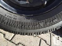 Goodyear Nordic winter tires 195/65R15 used 3 winters,
