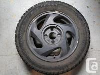 4 Arctic Claw Winter Txi 195/60R14 Used two seasons -