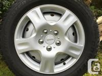 Set of 4 Cooper Weather-MasterS/T2 winter tires