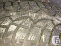 General Altimax Arctic 235/70R16 Used 2 winters,