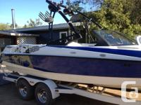 Selling my 2009 Axis A22 wakeboard boat. The boat has
