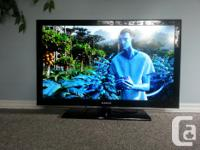 """Samsung 40"""" LCD TV with original remote in excellent"""