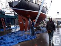 Safe, steel-hulled, well maintained, family boat with