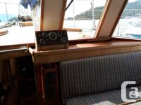Safe, steel-hulled, well-maintained, family boat with