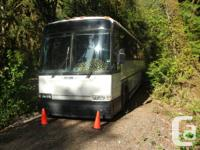 40 ft Class A Motorhome built in a MCI bus (Greyhound)