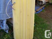 Used good condition 40 gallon water tank. Has drain