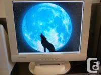 $40 PC Desktop LCD Monitor Keyboard mouse $40