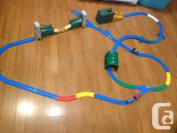 Fun for little ones! Durable, 34 piece track includes