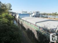1974 80m x 9.35m x 2.2m Steel Self Propelled BargeCargo for sale  Ontario