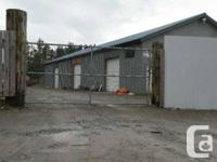 Warehouse space in Coombs. Licensed for auto wrecking,