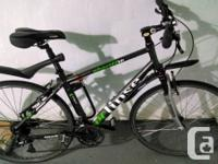 Eclipse Constable HT1 Hybrid Bike. with Front and Seat