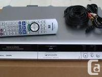 Panasonic DVD RECORDER/PLAYER DMR-EH55 with a 200 GIG