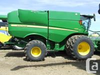 S690 2012 John Deere S690, Combines, Premium Cab And