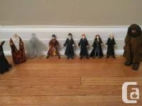 Like-new main Harry Potter action numbers in excellent