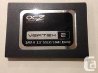 "We have a 40GB 2.5"" SATA2 OCZ SSD.  Capacities: 40GB."