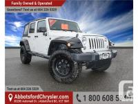 2014 Jeep Wrangler Unlimited Sahara - Sold as a