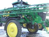 R4030 2015 John Deere R4030, Self-Propelled Sprayers,