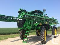 R4038 2014 John Deere R4038, Self-Propelled Sprayers,