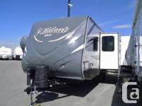 What a great travel trailer for weight, for towing, for
