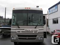 2002 PACE ARROW 37' CLASS A MOTORHOME WITH two SLIDES